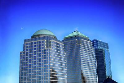 Photograph - Buildings 2,3,4 In New York's Financial District by Dyle Warren