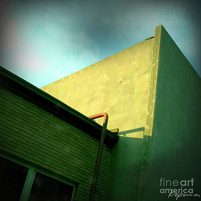 Photograph - Buildings Abstract by Greg Kopriva