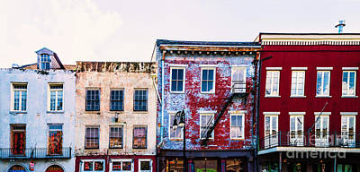 Photograph - Buildings Along Decatur by Frances Ann Hattier