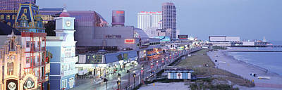 Buildings In A City, Atlantic City, New Art Print by Panoramic Images