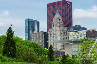 Photograph - Buildings In Chicago by Jennifer White