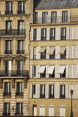 Buildings In Paris Art Print