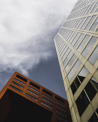 Photograph - Buildings In St. Louis City, Mo by Dylan Murphy