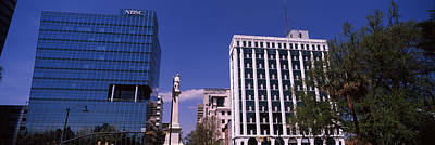 Confederate Monument Photograph - Buildings Near Confederate Monument by Panoramic Images