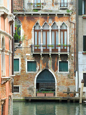 Painting - Buildings Of Venice by Lisa Boyd