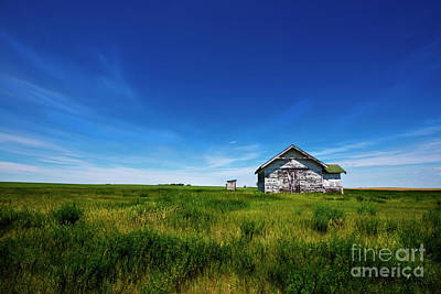 Photograph - Buildings On The Plain by David Arment