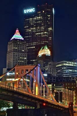Buildings Towering Over Pittsburgh Art Print