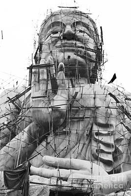 Photograph - Buildling Buddha by Nola Lee Kelsey