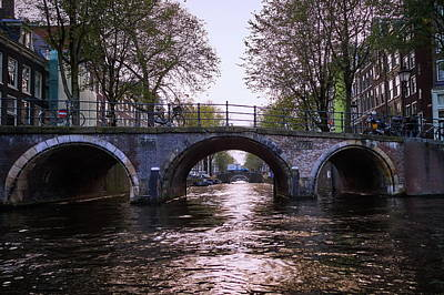 Photograph - Built 1722. Amsterdam Canals by Jouko Lehto