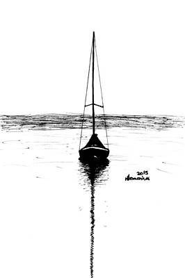 Drawing - Built For Water by Kayleigh Semeniuk