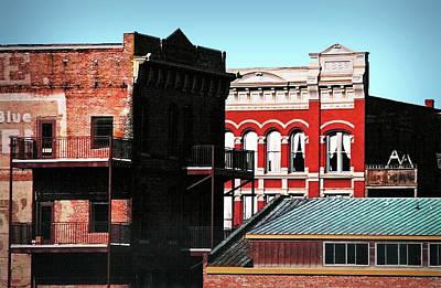 Photograph - Built In 1886 by Nadalyn Larsen