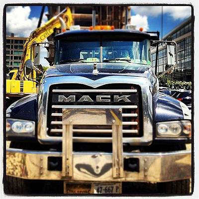 Truck Photograph - Built Like A Mack Truck by Rob Murray