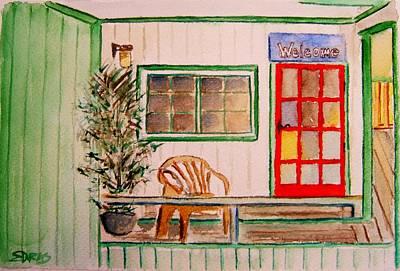 Painting - Bukeyashiki Guise by Elaine Duras