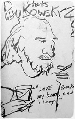 c732101baff97 Bukowski Wall Art - Digital Art - Bukowski by Samuel Zylstra