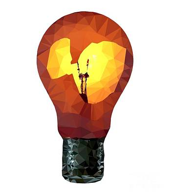 Digital Art - Bulb by Michal Boubin