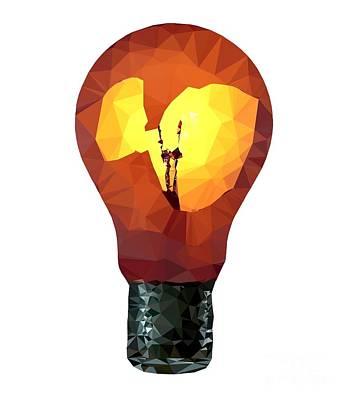 Digital Art - Bulb by Michal Boubin