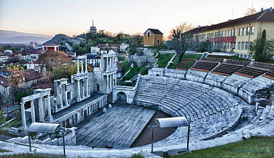 Photograph - Bulgaria Theater by Johnny Sandaire
