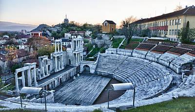 Bulgaria Theater Art Print