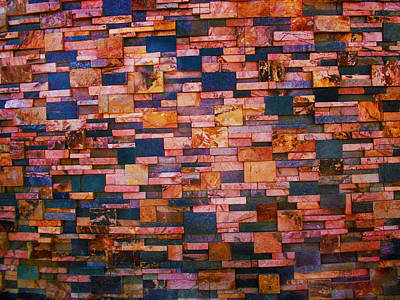 Photograph - Bulging Wall by Mark Blauhoefer