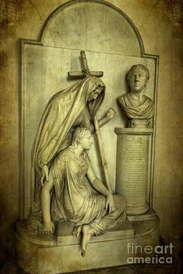 Pedestal Photograph - Bulkeley Memorial by Adrian Evans
