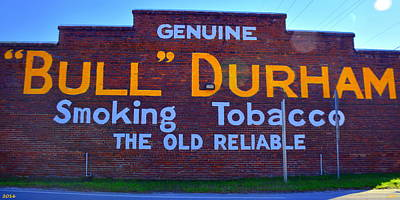 Photograph - Bull Durham Smoking Tobacco by Lisa Wooten