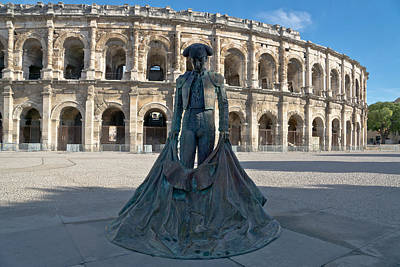 Bull Fighter Photograph - Arenes De Nimes by Scott Carruthers