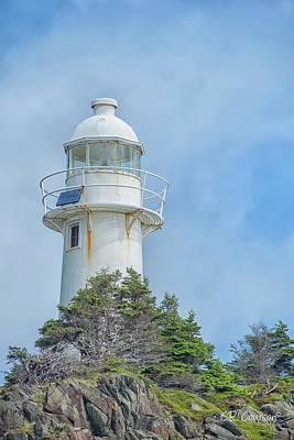 Photograph - Bull Head Lighthouse by CR Courson