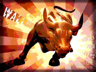 Superhero Ice Pop Rights Managed Images - Bull Market Royalty-Free Image by Binka Kirova