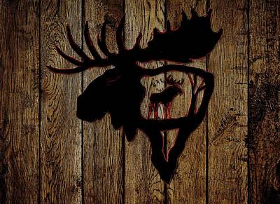 Photograph - Bull Moose 4 by Larry Campbell
