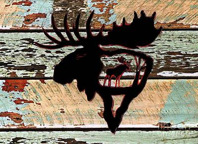 Photograph - Bull Moose 5 by Larry Campbell