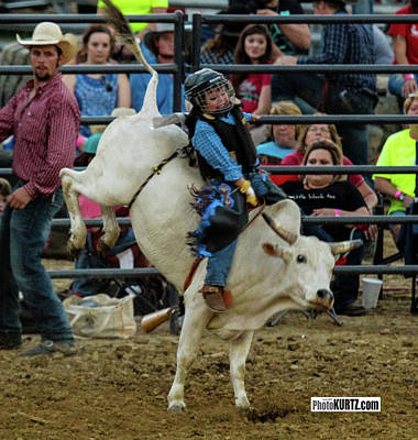 Photograph - Bull Rider In Training by Jeff Kurtz