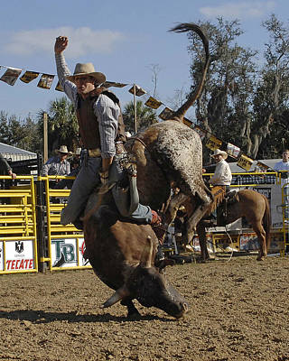 Photograph - Bull Rider by Keith Lovejoy