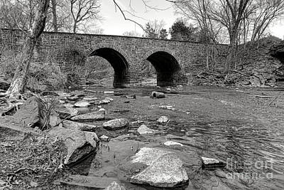Bull Run Bridge Art Print by Olivier Le Queinec