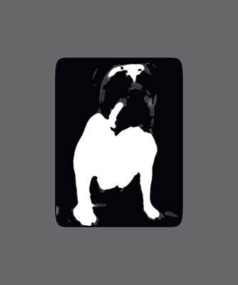 Bulldog Photograph - Bulldog Design 2 by Heather Joyce Morrill