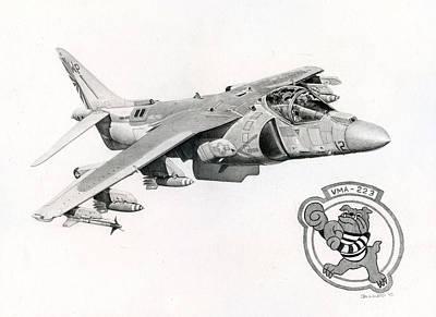 Bulldog Jumpjet Original by Mark Jennings