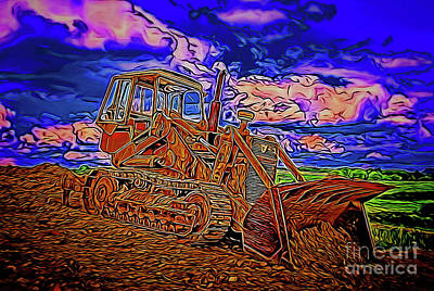 Photograph - Bulldozer 14318 by Ray Shrewsberry