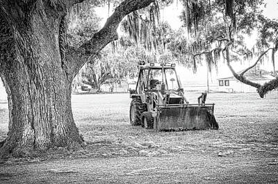 Photograph - Bulldozer by Scott Hansen