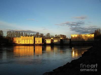Photograph - Bullerforsen Dawn by Martin Howard