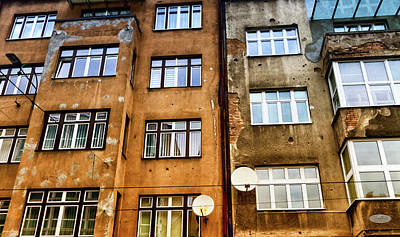 Photograph - Bullet Holes In A Wall Building In Sarajeva, Bosnia And Herzegov by Elenarts - Elena Duvernay photo