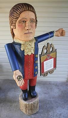 James Neill Sculpture - Bullet Proof George Washington by James Neill