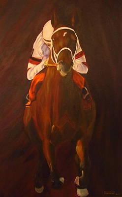 Derby Painting - Bullet Train by Dani Altieri Marinucci