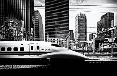 Photograph - Bullet Train by David Harding