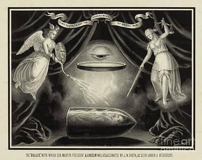 Bullet Used To Assassinate Abraham Art Print