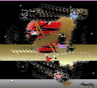 Digital Art - Bulletproof Heart by Larry Talley