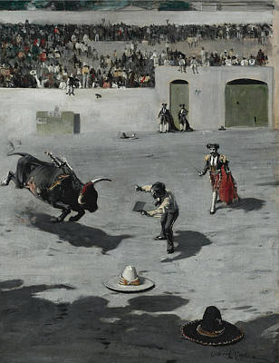 Painting - Bullfight In Mexico by Gilbert Gaul