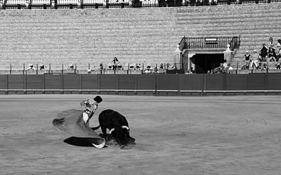 Photograph - Bullfighting 11b by Andrew Fare