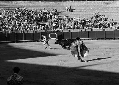 Photograph - Bullfighting 12b by Andrew Fare