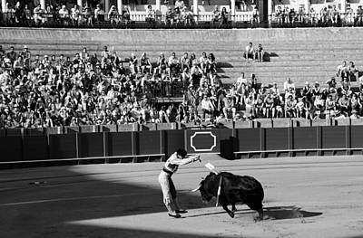 Photograph - Bullfighting 18b by Andrew Fare