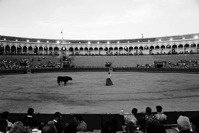 Photograph - Bullfighting 19b by Andrew Fare