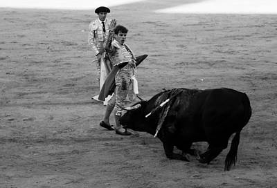 Photograph - Bullfighting 9b by Andrew Fare